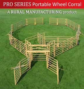 PRO SERIES Portable Wheel Corral