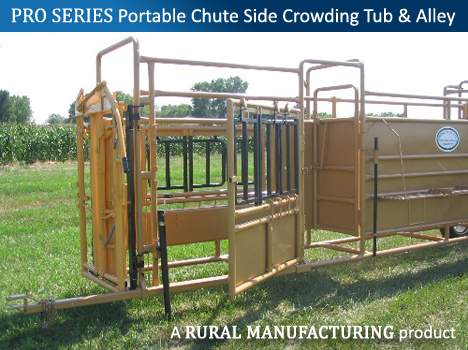 Pro Series Portable Chute Side Tub and Alley