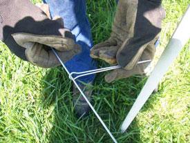 Pasturepro 1 Quot X 60 Quot Fence Dropper Stay White Ruralmfg Com
